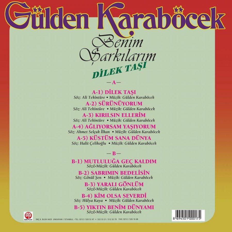 Gülden Karaböcek Benim Şarkılarım / Dilek Taşı - Plak