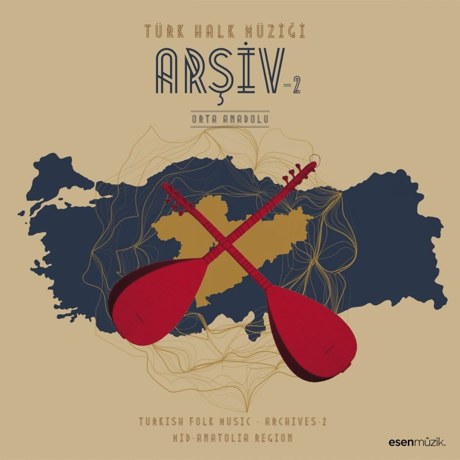 Türk Halk Müziği Arşiv 2 / Orta Anadolu - Plak