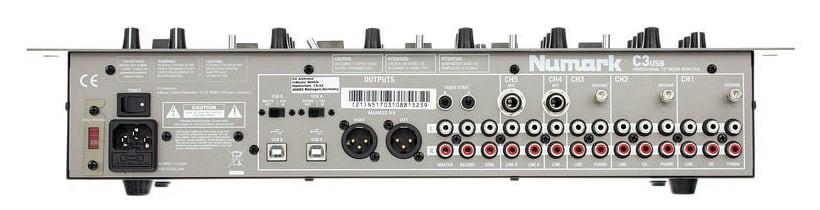 Numark C3 USB Profesyonel DJ Mixer