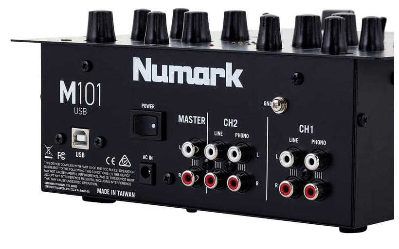 Numark M101 Profesyonel DJ Mixer
