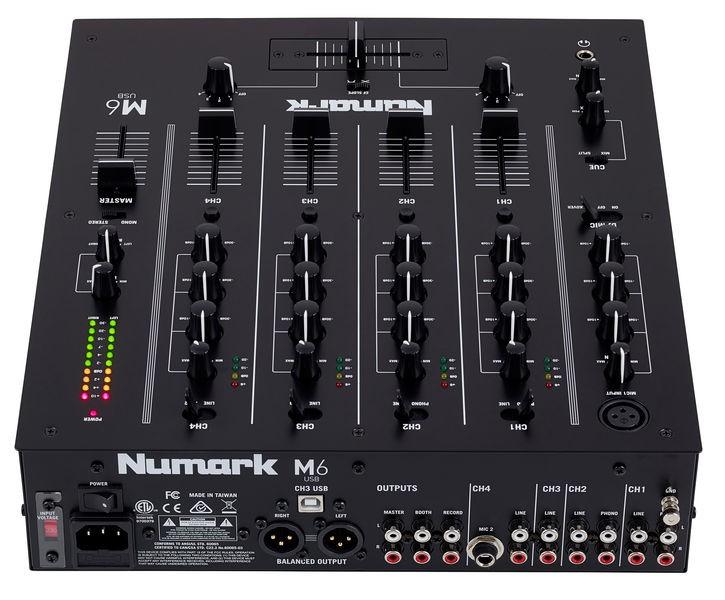 Numark M6 USB Profesyonel DJ Mixer