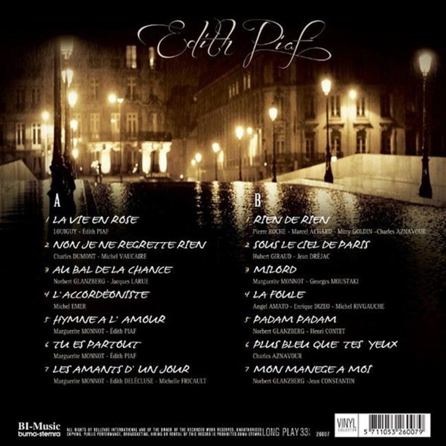 Edith Piaf The Very Best Of Edith Piaf - Plak