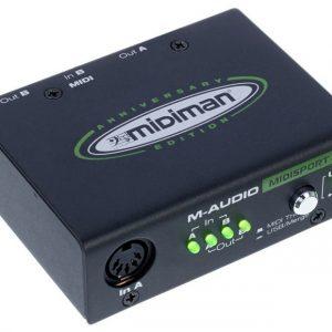 M-Audio Midisport 2x2 Usb MIDI Arabirim