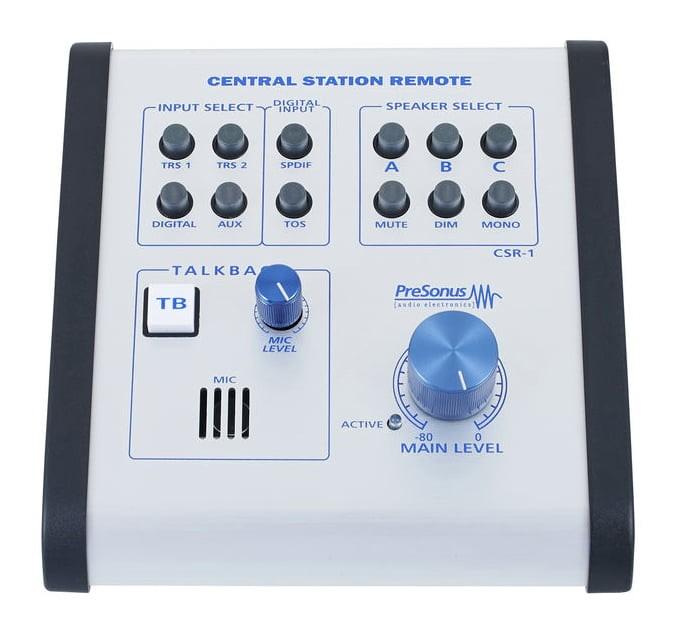 Presonus Central Station Remote Monitör Kontroller