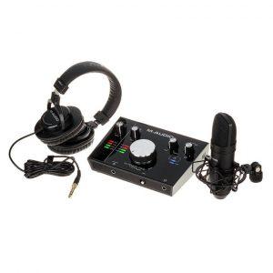 M-Audio M-Track 2x2 Vokal Prodüksiyon Paketi