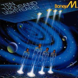 Boney M 10.000 Lightyears - Plak