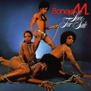 Boney M Love for Sale - Plak