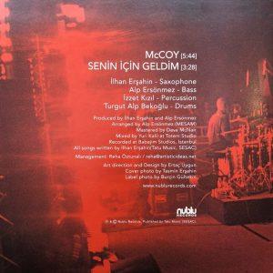 İlhan Erşahin McCoy / Senin İçin Geldim - Single 45'lik Plak