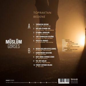 Müslüm Gürses Topraktan Bedene - Plak