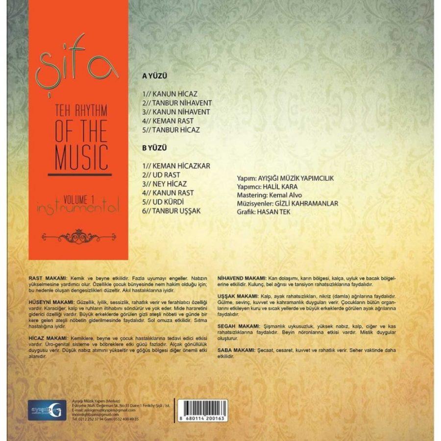 Şifa The Rhythm Of The Music - Plak