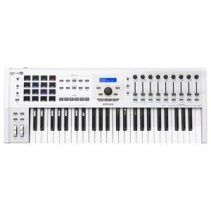 Arturia Keylab 49 MKII Klavye/Kontroller (Beyaz)
