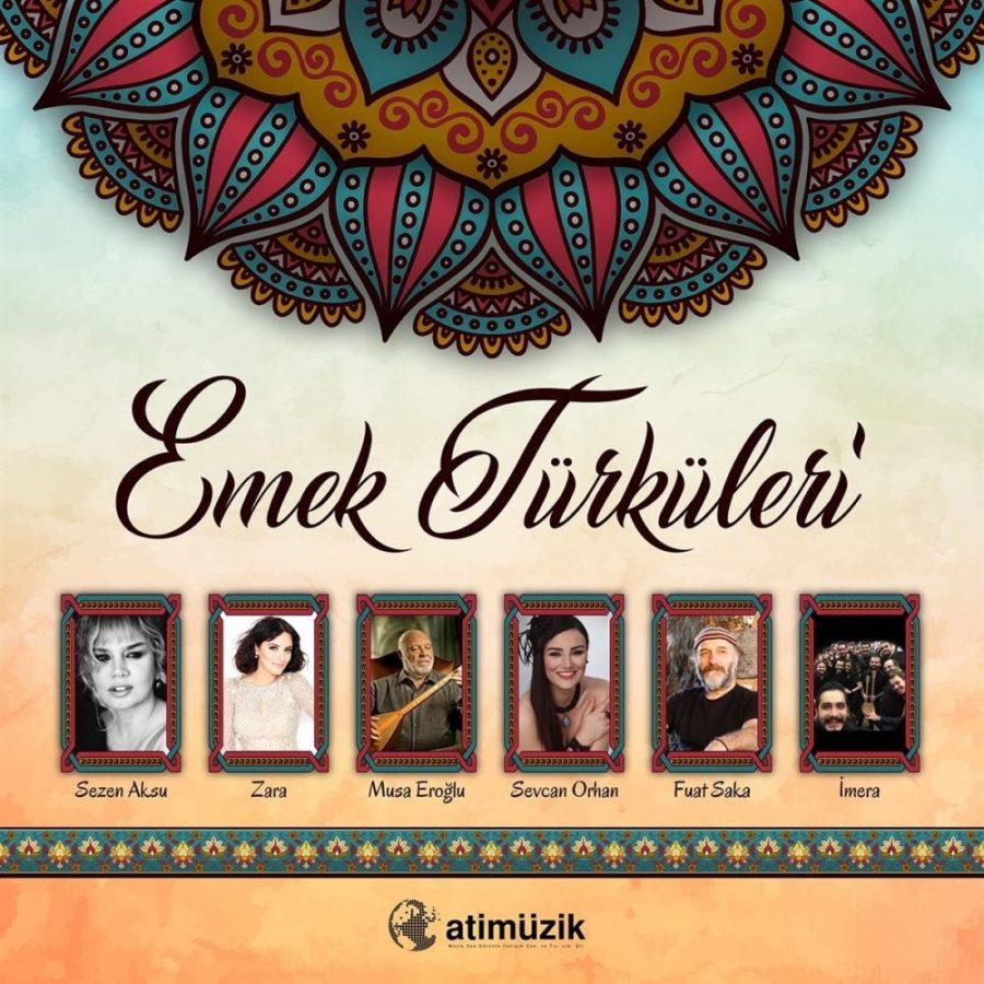 Emek Türküleri Çeşitli Sanatçılar - Plak