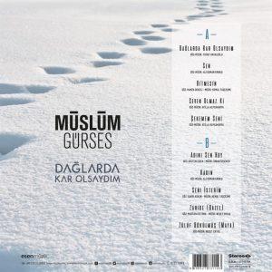 Müslüm Gürses Dağlarda Kar Olsaydım - Plak