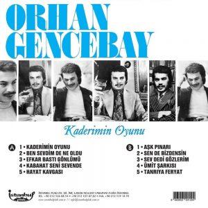 Orhan Gencebay Kaderimin Oyunu - Plak