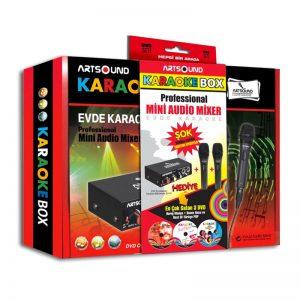 Artsound Karaoke Box Eğlence Seti