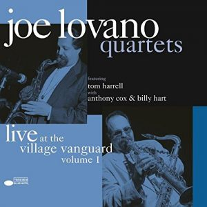 Joe Lovano Quartets Live At The Village Vanguard Vol. 1 Limited Edition, Remastered From Analog Tapes,180 Gr - Plak