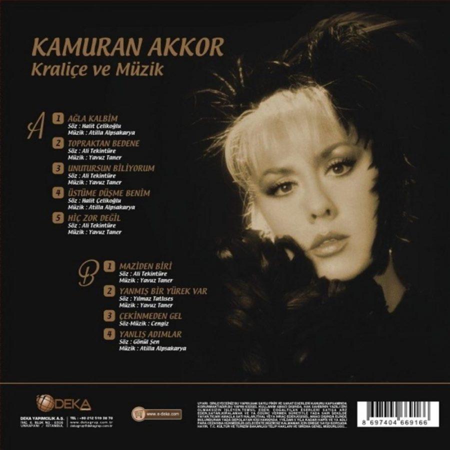 Kamuran Akkor Kraliçe ve Müzik - Plak