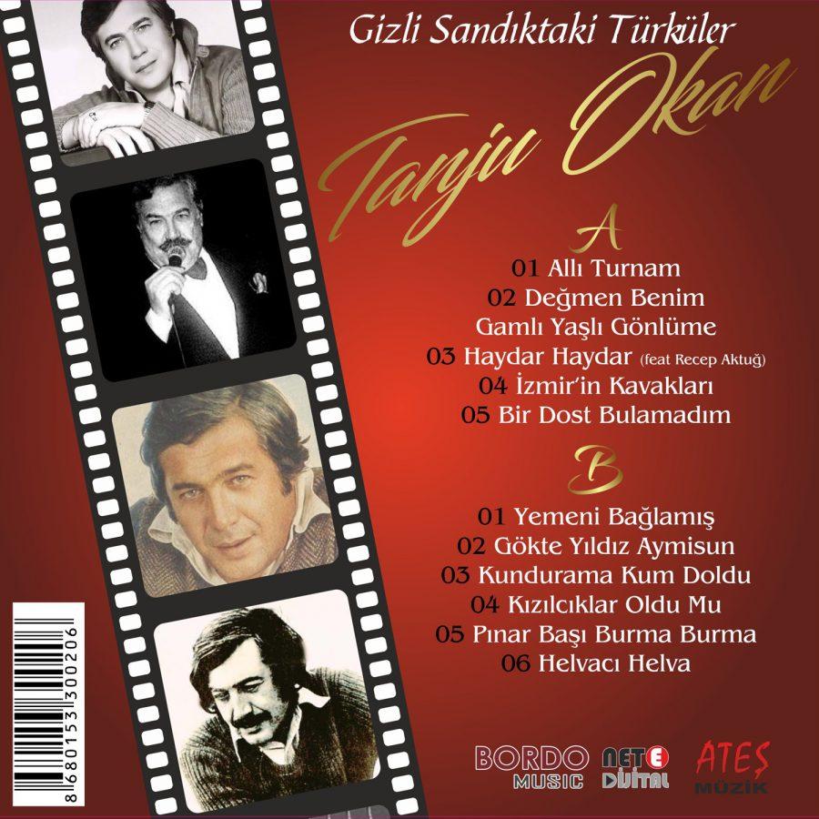Tanju Okan Gizli Sandıktaki Türküler - Plak
