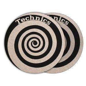 Technics Spiral Slipmats