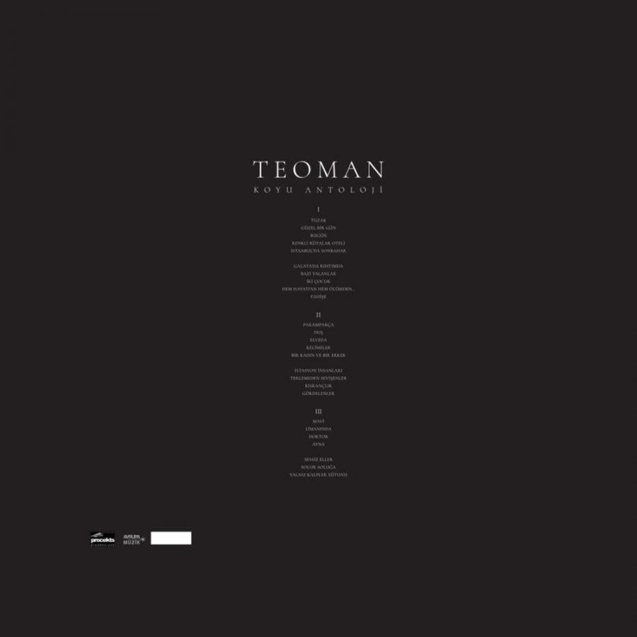 Teoman Koyu Antoloji - 3 Plak Özel Box Set