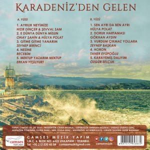 Çeşitli Sanatçılar Karadeniz'den Gelen - Plak