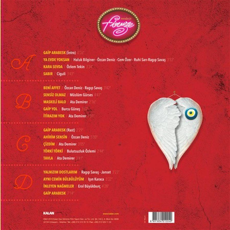 Neredesin Firuze Film Müzikleri - Plak