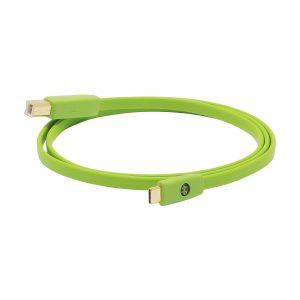 Neo d+ USB Class B Kablo / Yeşil