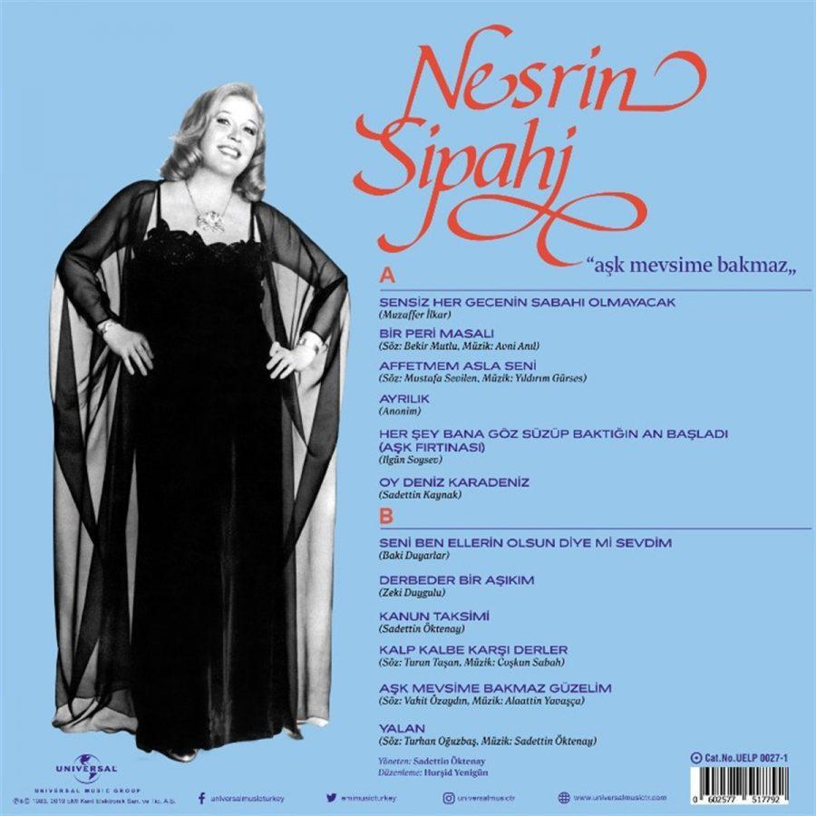 Nesrin Sipahi Aşk Mevsime Bakmaz - Plak