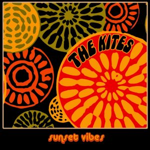 The Kites Sunset Vibes (Clear Blue Vinyl) - Plak