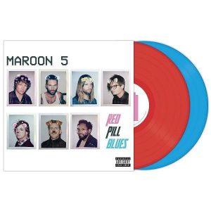 Maroon 5 Red Pill Blues Plak