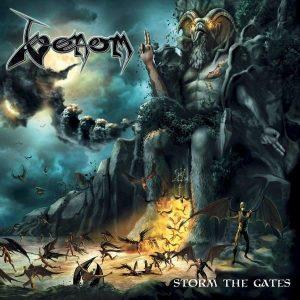 Venom Storm The Gates Limited Plak