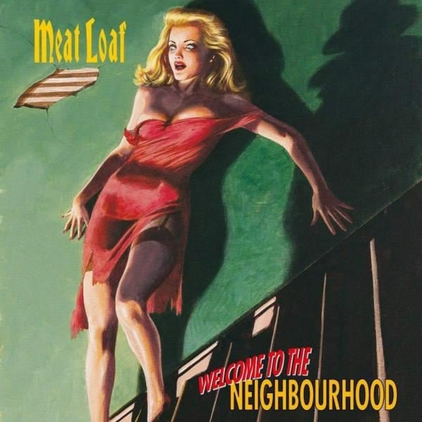 Meat Loaf Welcome To The Neighbourhood Plak
