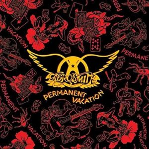 Aerosmith Permanent Vacation Plak