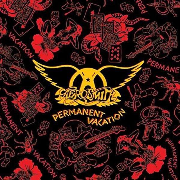 Aerosmith Permanent Vacation Plak