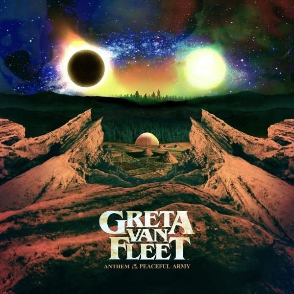 Greta Van Fleet Anthem Of The Peaceful Army Plak