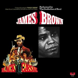 James Brown Black Caesar Plak