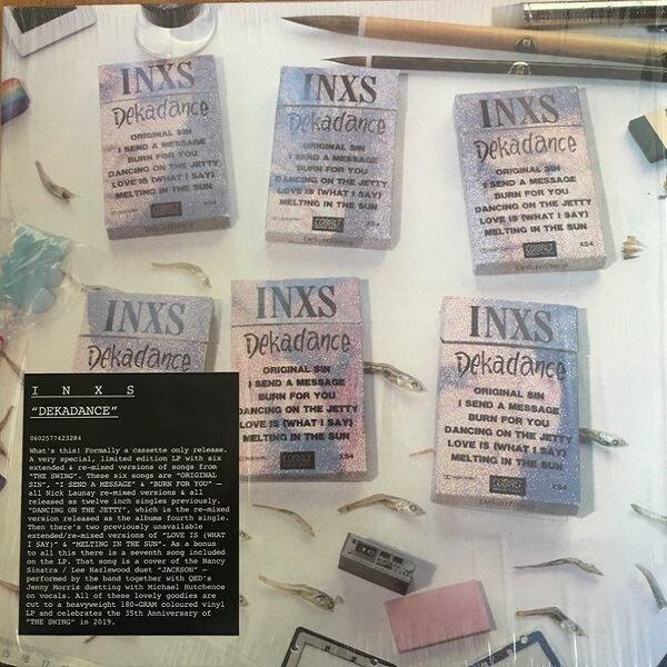 Inxs Dekadance Red Vinyl Limited Plak