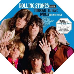 The Rolling Stones Through The Past Darkly Plak