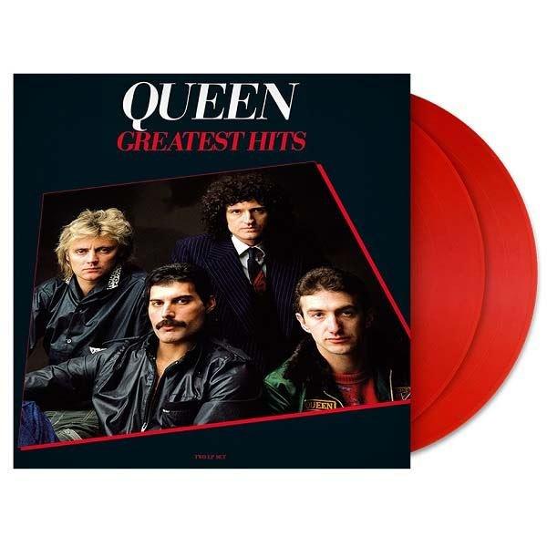 Queen Greatest Hits Remastered Red Vinyl Plak