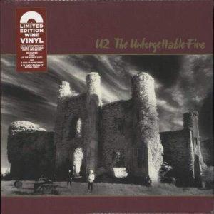 U2 The Unforgettable Fire (Remastered/Coloured) Plak