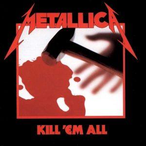 Metallica Kill 'Em All Plak