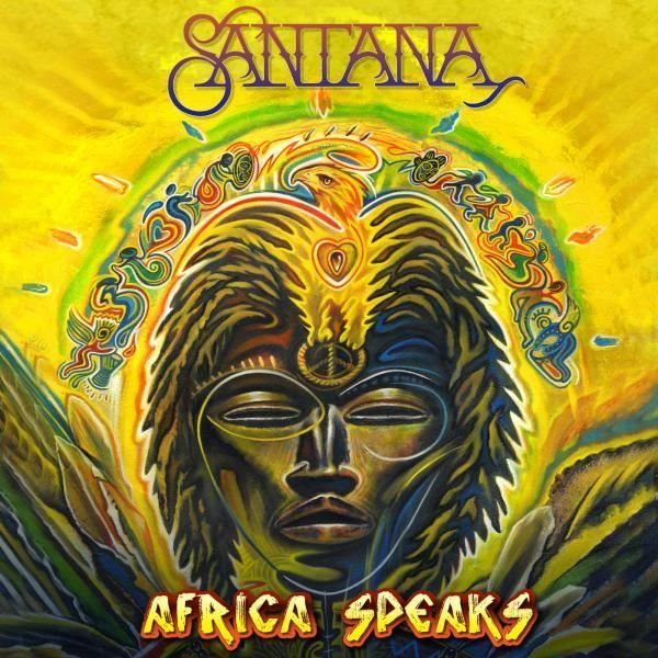 Carlos Santana Buika Africa Speaks Plak