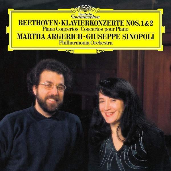 Martha Argerich, Giuseppe Sinopoli Beethoven Piano Concertos No. 1 & 2 Plak