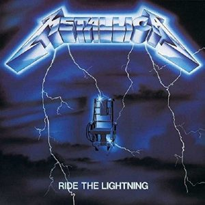 Metallica Ride The Lightning Remastered 2016 Plak