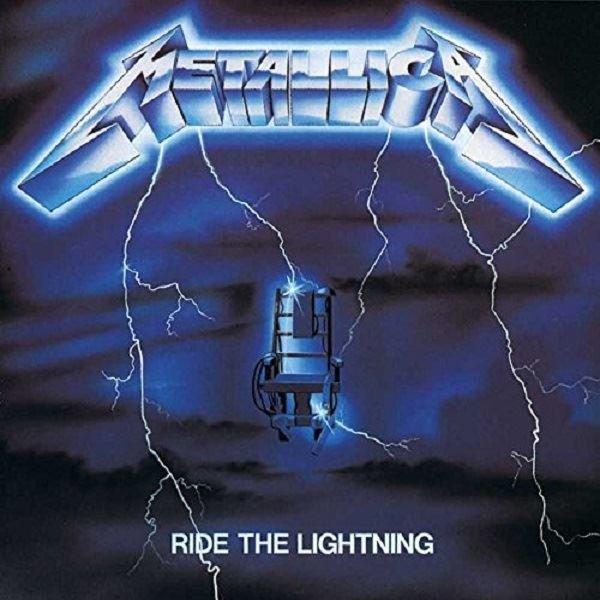 Metallica Ride The Lightning Remastered 2016 Plak