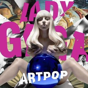 Lady Gaga Artpop Plak