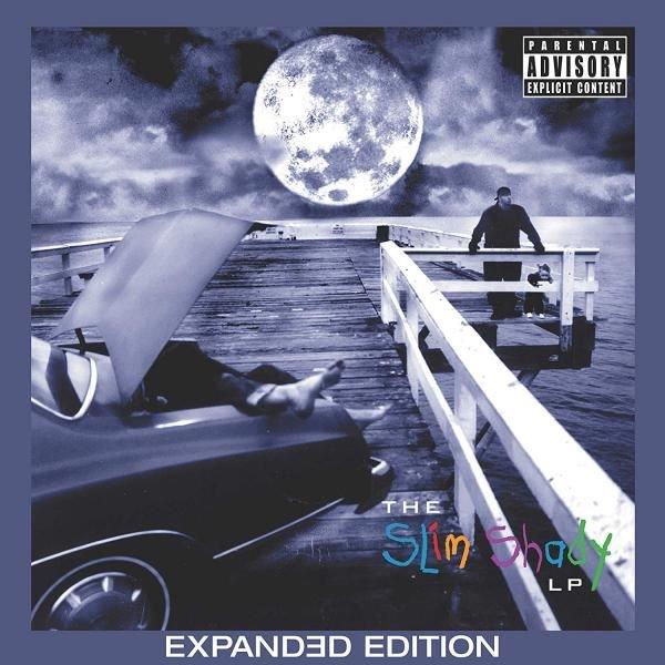 Eminem The Slim Shady Expanded Plak