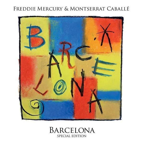 Freddie Mercury Barcelona Plak