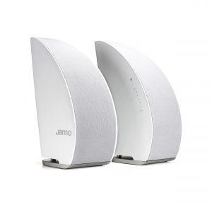 Jamo DS5 Bluetooth Bağlantılı Bookshelf Hoparlör / Beyaz