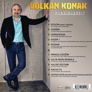 Volkan Konak Klasikleri - Plak